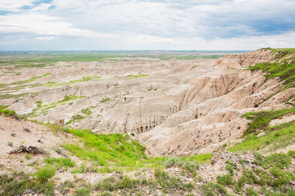 View from the Wall just outside the Badlands National Park