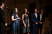 AMAS Benefit at Baruch College on April 2, 2018 in New York City. (Photo by Ben Hider)