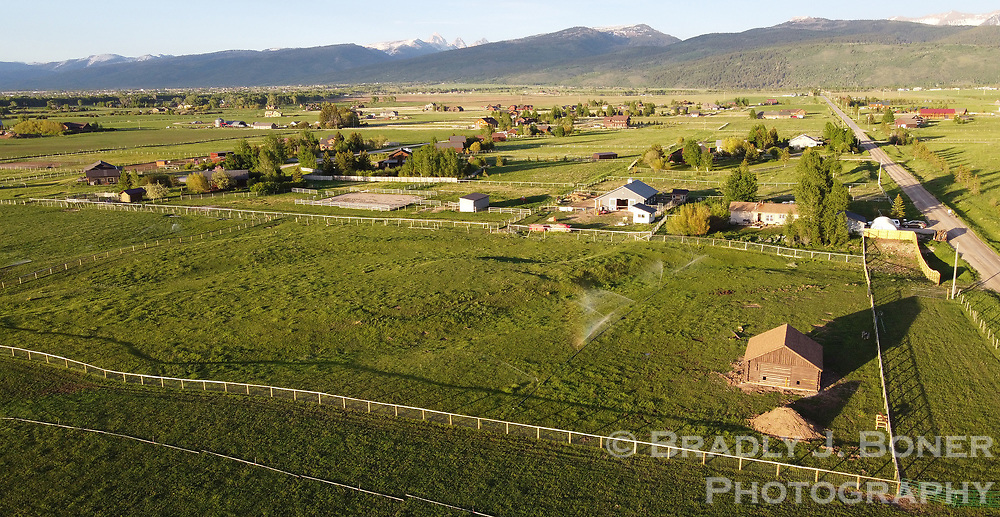 """The small farm just north of Victor, Idaho, home of Aska's Animals Foundation, which strives to """"provide a progressive environment for animals through rehabilitation, adoption, education and community outreach,"""" according to their website."""