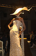 Moet and Chandon fashion tribute to Philip treacy. V. & a. 16 April 2002. © Copyright Photograph by Dafydd Jones 66 Stockwell Park Rd. London SW9 0DA Tel 020 7733 0108 www.dafjones.com