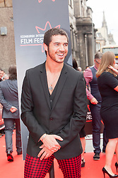 "Samuel Robertson. Opening Night Gala and World Premiere of ""The Legend of Barney Thompson"", Edinburgh International Film Festival 17 - 28 June 2015."