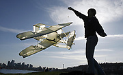 Box kite replica of the original Wright Brothers' Flyer. (Alan Berner / The Seattle Times, 2010)