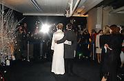 John Redwood and Nikki Page. The Black and White Winter Ball. Old Billingsgate. London. 8 February 2006. -DO NOT ARCHIVE-© Copyright Photograph by Dafydd Jones 66 Stockwell Park Rd. London SW9 0DA Tel 020 7733 0108 www.dafjones.com