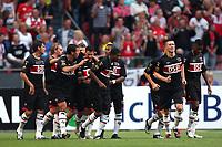 seizoen 2009 / 2010 , 25-07-2009 johan cruyffschaal heerenveen - az maarten martens scoort de 0-3
