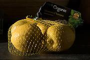 Organic unwaxed lemons
