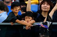 Rugby Union - 2019 Rugby World Cup - Semi-Final: England vs. New Zealand<br /> <br /> New Zealand fans at International Stadium Yokohama, Kanagawa Prefecture, Yokohama City.<br /> <br /> COLORSPORT/LYNNE CAMERON