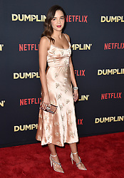 Georgie Flores attends the premiere of Netflix's 'Dumplin'' at TCL Chinese 6 Theatres on December 6, 2018 in Los Angeles, CA, USA. Photo by Lionel Hahn/ABACAPRESS.COM