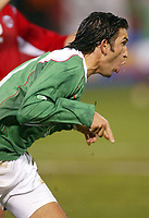 SAN FRANCISCO, CAL   25-01-2006<br /> <br /> Francisco Fonseca (#17 Mexico) during friendly match between Mexico and Norway at Monster Park stadium in San Francisco, California, on January, 25, 2006<br /> <br /> <br /> <br /> FOTO ©ALEJANDRO MELENDEZ  Clasos/Graffiti