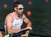 Lucerne, SWITZERLAND. GBR M4- Nathaniel REILLY-O'DONNELL, heat of the men's four, 2015 FISA World Cup III, Lake Rotsee,  08:39:17  Friday  10/07/2015   [Mandatory Credit. Peter SPURRIER/Intersport Images.