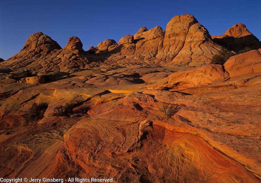 Fantastic lunar landscape of the Vermillion Cliffs - Paria Wilderness located in both Utah and Arizona.