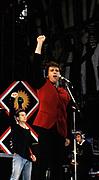 Peter Gabriel at Free Nelson Mandela concert London 1981