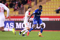 January 19, 2019 - Monaco, France - 44 CESC FABREGAS (MONA) - 18 IBRAHIMA SISSOKO  (Credit Image: © Panoramic via ZUMA Press)