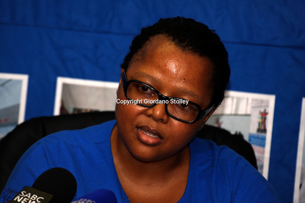 DURBAN - 23 January 2013 - Dr Sibongile Zungu, the head of the KwaZulu-Natal health department speaks at a press conference on the future of Durban's 103-year old McCord Hospital. Picture: Allied Picture Press/APP