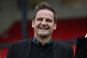 AFC Wimbledon manager Neal Ardley during The FA Cup match between Sutton United and AFC Wimbledon at Gander Green Lane, Sutton, United Kingdom on 7 January 2017. Photo by Stuart Butcher.