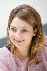 Portrait of Janja Skamlic, CFE of Erenst & Young, on September 13, 2017 in Ljubljana, Slovenia. Photo by Matic Klansek Velej / Sportida