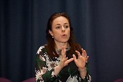 Kate Forbes, Scottish Finance Secretary, addressing delegates at the Scottish Property Federation conference at the EICC, Edinburgh. pic copyright Terry Murden @edinburghelitemedia
