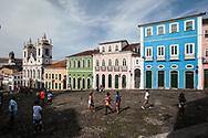 The Largo do Pelourinho, with  the church Nossa Senhora do Rosario dos Pretos, is the symbol of Bahia, since the city became part of the UNESCO World Heritage area is off-limits to cars.