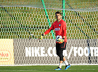 ARLAMOW, POLAND - MAY 30: Lukasz Fabianski during a training session of the Polish national team at Arlamow Hotel during the second phase of preparation for the 2018 FIFA World Cup Russia on May 30, 2018 in Arlamow, Poland. MB Media