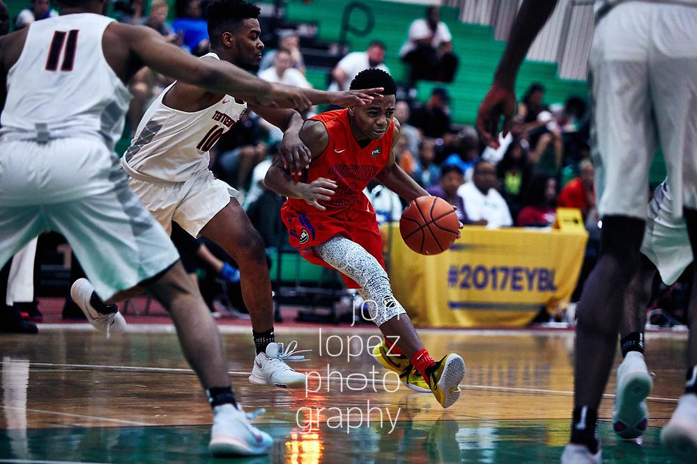 HAMPTON, VA FRIDAY, APRIL 21, 2017:  Nike EYBL session 1 at the Boo Williams Sportsplex.  Center. NOTE TO USER: Mandatory Copyright Notice: Photo by Jon Lopez