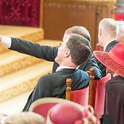 NLD/Den Haag/20170919 - Prinsjesdag 2017, Mark Rutte, Lodewijk Asscher maken een selfie