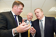 11/07/2017  REPRO FREE:    Dr. Eugene McCarthy MET Technology Manager GMIT, Barry Egan Enterprise Ireland and Minister of State Pat Breen, Department of Enterprise and Innovation. Photo:Andrew Downes, xposure .
