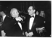 Carl Bernstein, Bob Woodman. Committe To Protect Journalists Awards. 6 Dec '95© Copyright Photograph by Dafydd Jones 66 Stockwell Park Rd. London SW9 0DA Tel 020 7733 0108 www.dafjones.com
