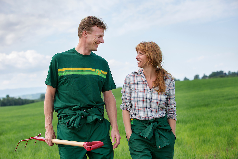 Corporate photography on agriculture in Norway
