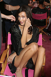 November 8, 2018 - New York, New York, United States - Model Bella Hadid has her hair and make-up done prior to the Victoria's Secret Rinway show on November 8 2018 in New York City  (Credit Image: © Philip Vaughan/Ace Pictures via ZUMA Press)