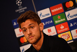 09.04.2019, Amsterdam Arena, Amsterdam, NED, UEFA CL, Ajax Amsterdam vs Juventus Turin, Viertelfinale, Hinspiel, Pressekonferenz, im Bild rugani // rugani during a press confernece for the UEFA Champions League quarterfinals, 1st leg match between Ajax Amsterdam and Juventus Turin at the Amsterdam Arena in Amsterdam, Netherlands on 2019/04/09. EXPA Pictures © 2019, PhotoCredit: EXPA/ laPresse/ Alfredo Falcone<br />