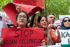 National Demonstration for Kashmir, London, 10 August 2019