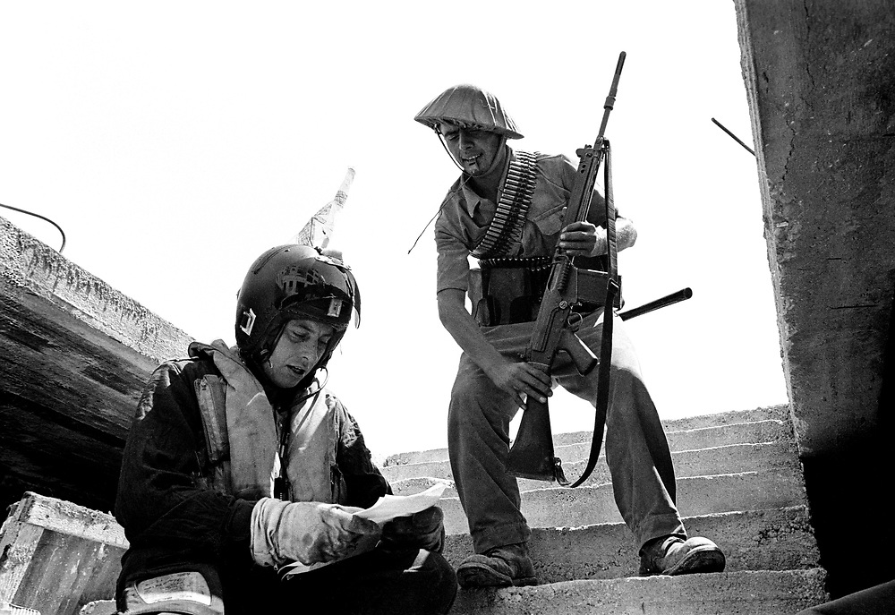 Cyprus War 20 July–18 August 1974. Turkish invasion of Cyprus code-name by Turkey, Operation Attila July 1974. Photo by Terry Fincher.