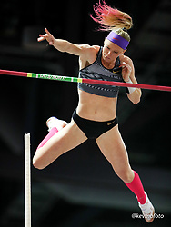 2020 USATF Indoor Championship<br /> Albuquerque, NM 2020-02-15<br /> photo credit: © 2020 Kevin Morris<br /> women pole vault, Nike