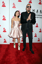 "2018 Latin Recording Academy ""PERSON OF THE YEAR"" Mandalay Bay Events Center Mandalay Bay Hotel & Casino Las Vegas, Nv November 14, 2018. 14 Nov 2018 Pictured: Angela Aguilar, Pepe Aguilar. Photo credit: KWKC/MEGA TheMegaAgency.com +1 888 505 6342"