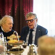 NLD/Ridderkerk/20181021 - oekpresentatie 'Voetbal stelt niets voor' van Jan Boskamp, Theo Jansen en Geert Meijer
