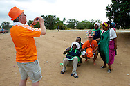 Dutch supporters at the world cup soccer in South Africa<br /> Oranjesupporters tijdens het WK voetbal in Zuid-Afrika