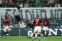 Milano 22/3/2003<br />Milan-Juventus 2-1<br />Ciro Ferrara  (Juventus) in an head shot
