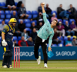 Surrey's Will Jacks in action today <br /> <br /> Photographer Simon King/Replay Images<br /> <br /> Vitality Blast T20 - Round 14 - Glamorgan v Surrey - Friday 17th August 2018 - Sophia Gardens - Cardiff<br /> <br /> World Copyright © Replay Images . All rights reserved. info@replayimages.co.uk - http://replayimages.co.uk