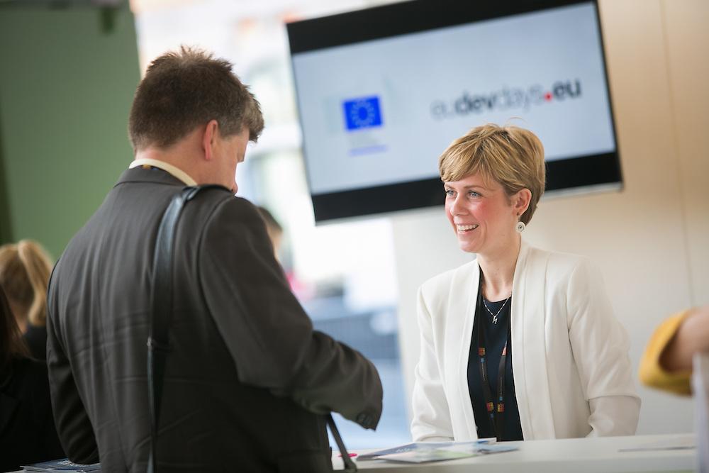 03 June 2015 - Belgium - Brussels - European Development Days - EDD - Illustration © European Union