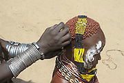 Africa, Ethiopia, Omo Valley Konso tribe woman
