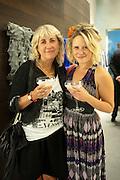 FRANCES BENTLEY; LILY MEADES, Vogue: Fashion's Night Out: Armani. Bond st.  London. 8 September 2010.  -DO NOT ARCHIVE-© Copyright Photograph by Dafydd Jones. 248 Clapham Rd. London SW9 0PZ. Tel 0207 820 0771. www.dafjones.com.