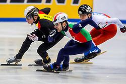 12-01-2018 DUI: ISU European Short Track Championships 2018 day 1, Dresden<br /> Yuri Confortola ITA #105, Ward Pétré BEL #123