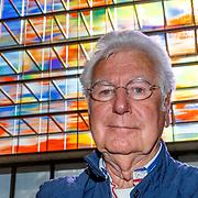 NLD/Hilversum/20181003 - Onthulling Mies Bouwman Totempaal, Gerard Cox