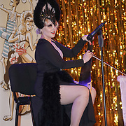 Markee de Saw,Glasgow preforms at the London Burlesque Festival the VIP Opening Gala at Conway Hall on 18th May 2017, UK. by See Li