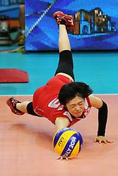 Japan Haruka Miyashita digs a ball