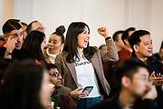 Chegg Lunar New Year celebration at their headquarters in Santa Clara, Calif., Wednesday, Jan. 22, 2020.<br /> <br /> Photo by Adm Golub/Alison Yin Photography