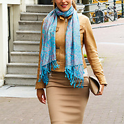 NLD/Amsterdam/20150620 - Huwelijk Kimberly Klaver en Bas Schothorst, Nadia Palesa Poeschmann