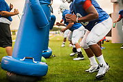 HBU Football Practice