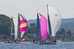 Silvers Marine Scottish Series 2017<br /> Tarbert Loch Fyne - Sailing<br /> <br /> GBR7667R, Now or Never 3, Neil Sandford, Fairlie YC, Mat 1010<br /> <br /> Credit Marc Turner / PFM