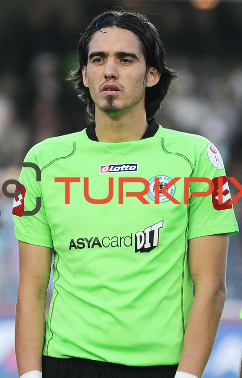 Konyaspor's Ahmet Gorkem GORK during their Play Off Second leg match at AliSamiYen Stadium in Istanbul Turkey on Thursday, 20 May 2010. Photo by TURKPIX