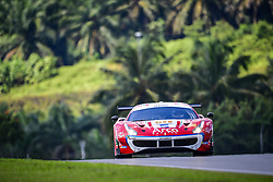 February 22, 2019 - Sepang, MALAISIE - 51 SPIRIT OF RACE (SUI) FERRARI 488 GT3 GT ALESSANDRO PIER GUIDI (ITA) OSWALDO NEGRI JR (USA) FRANCESCO PIOVANETTI  (Credit Image: © Panoramic via ZUMA Press)